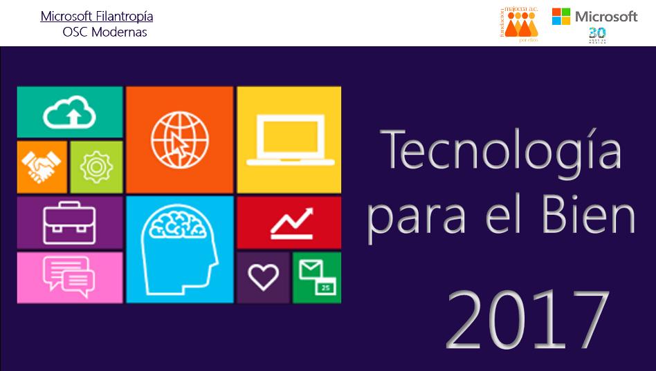 Tecnología para el bien 2017